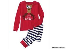 New Gymboree Girls Holiday Reindeer Pajamas Sleepwear Set Nwt Size 3