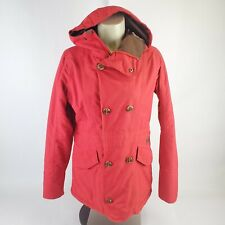 Burton DryRide Method Women's Size S Red Snow Insulated Ski Snowboard Jacket EUC
