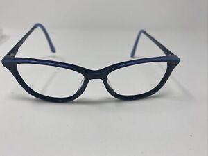 DRAPER JAMES DJ5012 53/15 140 indeigo eyeglass frames I12