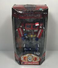 Transformers 20th Anniversary Optimus Prime New in Damaged Box