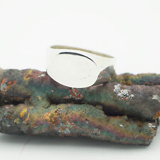 Modern Sterling Silver ring Taxco Mexico  size 12 heavy