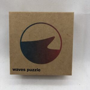 Waves Puzzle Company - Iridescent Puzzle - 49 Color Shifting Pieces