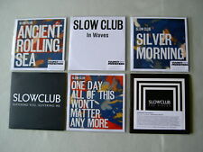 SLOW CLUB job lot of 6 promo CDs One Day All Of This Won't Matter Any More