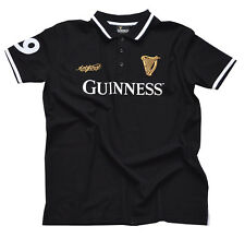 More details for guinness black 59 polo shirt (s-xxl)