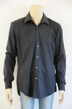 Cotton Blend Long Sleeve Slim Fit Casual Shirts for Men