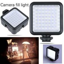 Portable 49 LED Video Light Lamp Photographic Photo Lighting for Camera Phone