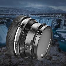 7Artisans 35mm F1.2 Prime Lens Manual Fixed Focus for Fuji Mirrorless Cameras