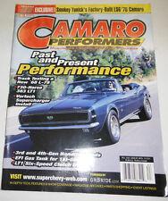 Camaro Performers Magazine Track Testing A New '68 L-78 Fall 2001 081914R