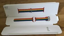 Genuine Apple Watch Strap Woven Nylon 2017 PRIDE GAY RAINBOW LGBT 38mm 40mm Rare