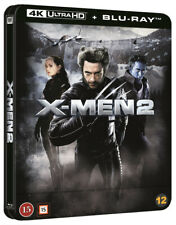 X Men 2 Steelbook 4K UHD + Blu Ray (Lenticular Magnet)
