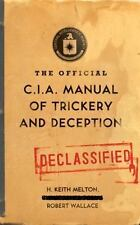 OFFICIAL C.I.A. MANUAL OF TRICKERY AND DECEPTION * Like New!