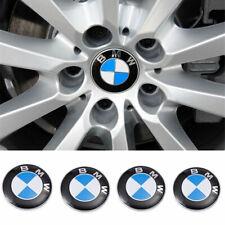 4 X 68MM BMW Nabendeckel Radnaben Nabenkappen Radkappe Felgendeckel Embleme****
