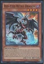 Yugioh Card - Red-Eyes Retro Dragon *Super Rare* BOSH-EN095 (NM/M)