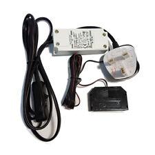 DESIGN LIGHT 16W LED Power Supply Switch & 6-Point Splitter Driver 3-Pin UK