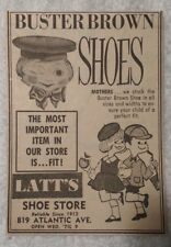 1964 Buster Brown Shoes - Latt's Shoe Store - Atlantic City NJ Advertisement