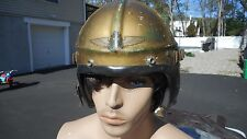 US Navy  H-4 Pilots Helmet Size Med MFG Gentex Named To Korean War Era