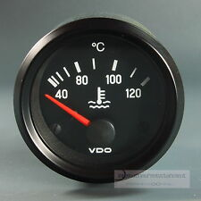 VDO KÜHLWASSER  INSTRUMENT 120°  GAUGE 12V  52mm Cockpit international schwarz