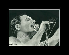 Freddy Mercury producer rock band Queen drawing from artist art image picture