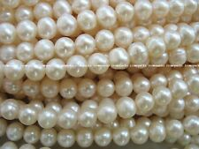 wholesale 10strands white 6-7mm round freshwater pearl wholesale bead nature gif