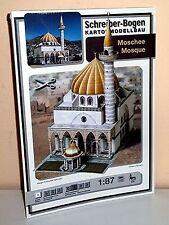 KARTONMODELLBAU  Moschee  SCHREIBER-BOGEN 679 Spur H0