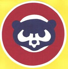 """HUGE CHICAGO CUBS THROWBACK IRON-ON PATCH - 8"""""""