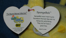 TY SPONGEBOB (BEST DAY EVER) BEST BUY EXCLUSIVE VERSION -  MINT with MINT TAG