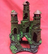 """House Ornament Ancient Castle Ruin 8"""" Shelter Home Bathroon Bedroom Decoration"""