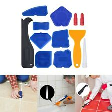 12x Silicone Sealent Smoother Scraper Caulking Remover Grout Caulk Tool Kit