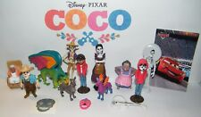 Disney Coco Movie Figure Set of 15 Kit with Miguel, Spirit Guide, Dog Dante Etc