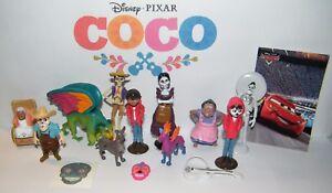 Disney Coco Movie Figure Set of 15 Kit with Miguel, Spirit Guide, Dog Dante Etc