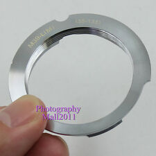 For Leica L39 M39 LSM LTM 35-135 135mm Screw Lens to Leica M6 M8 M9 MP Adapter