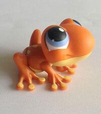 Littlest Pet Shop - RARE - 1st Gen - Orange Frog  - Blue Eyes - No 362 - #362