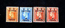 Eritrea Scott #27-30 Mint, Nh, #G992