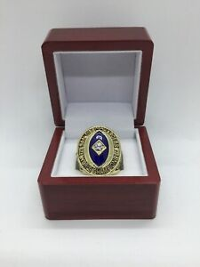 1963 San Diego Chargers Lance Alworth AFL Championship Ring Set with Display Box