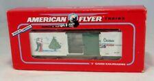 American Flyer Nib 6-48325 1996 Holiday boxcar