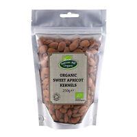 Organic Sweet Apricot Kernels 250g Certified Organic
