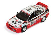 Mitsubishi Lancer Evo VI #22 K.Taguchi - Teoh Rally China 1999 1:43 Ixo RAM513
