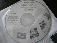 NEW GENUINE JAGUAR TECHNICAL GUIDE & UPDATE INFO CD DISC X-TYPE S-TYPE XJ XK XK8