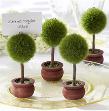 Free Shipping Tree Topiary Resin Card Place holder Wedding Favors