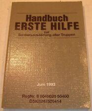Handbuch ERSTE HILFE Bundeswehr Sanität BW EGB KSK