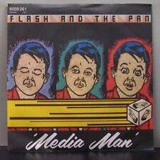 "(O) FLASH AND THE PAN-media on (7"" single)"