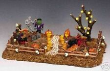 Lemax Spooky Town Halloween Bubble Boil & Trouble Lighted Front Yard