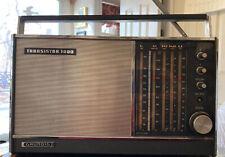 1960s Vintage GRUNDIG TRANSISTOR 1000 Shortwave AM FM RADIO  SwI SwII, Works