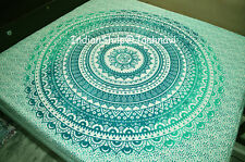 Large Hippie Mandala Tapestry omber Wall Hanging Queen Bedspread Blanket Bdding