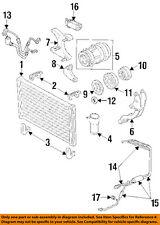GM OEM A/C Condenser, Compressor Lines-Compressor Mount Bracket 24504776