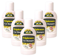 5x Triplewax - Car Shampoo Cleaner Removes Dirt & Grime and Leaves a Shine 375ml
