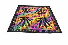 Indian Quilt Duvet Doona Cover Case Tye dye Floral print Multi-Color