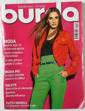 Rivista Burda Style Febbraio 2008 Italia cartamodelli cucito