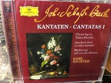 CD BACH CANTATAS (Sealed) Edith Mathis Peter Schreier Dietrich Fisher-Dieskau