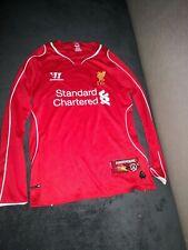 Liverpool FC Warrior Home Shirt 2014/15 Season-Kids/Boys/Girls - 146cm 10-11 Y